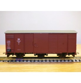 BEMO  2004 813, wagon couvert à 3 essieux  type G N° 153  DB   BO   HOe