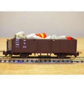 LILIPUT  316101,  wagon tombereauchargé fûts et  tonneaux  N°:60002  ÖBB    neuf   BO    HOe