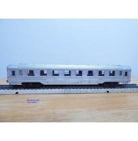 VB  260,  voiture grandes lignes DEV  Inox  mixte 1 / 2 Cl.  SNCF     BO