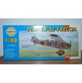 "SMER 0810 chasseur biplan italien FIAT CR-32 FRECCIA ""Diavoli rossi"" neuf BO 1/48"