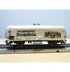 Märklin 4669, wagon couvert réfrigérant type Tehs 50 Kulmbacher Reichelbrau  Neuf  DB  BO