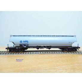 ROCO 47059,  wagon silo pour pulvérulents VTG  DB AG Neuf BO