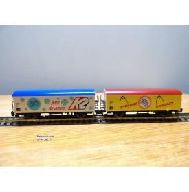 ARNOLD 0050.015, coffret de 2 wagons réfrigérants K2  HEAD  DB  neuf  BO