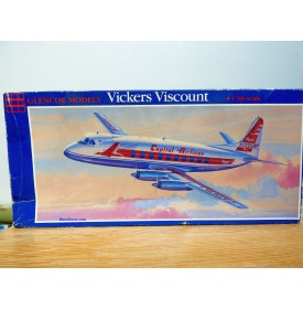 GLENCOE Models 05501, Vickers Viscount  Capital Airlines  ou  BEA     Neuf   BO   1/96 ème