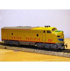 MÄRKLIN  4061, locomotive diesel  Bo Bo F7 A  non motorisée Union Pacific  UP      Neuf    BO