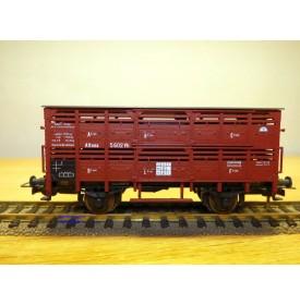 SACHSENMODELLE 16126, wagon couvert bétaillière type Vh  DRG  neuf     BO