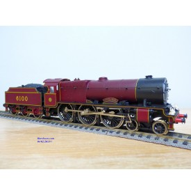 Rivarossi  véro 1348,  locomotive Ten wheels 4 6 0  ( 230 )  Royal Scott N°: 6100  LMS   BO