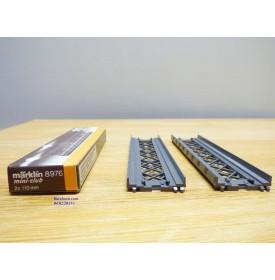 MARKLIN Miniclub 8976, 2 éléments de pont longueur 110 mm  neuf   BO