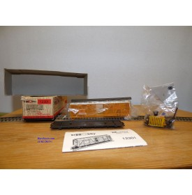 RIVAROSSI Tren Hobby 12301, wagon couvert à claire voies ( cattle car )   Union Pacific UP  neuf  BO