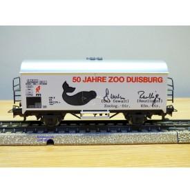 Märklin 84733  / 4415,  rare wagon couvert réfrigérant type Ichqrs 377 50 Jahre Zoo Duisburg  DB   Neuf   BO