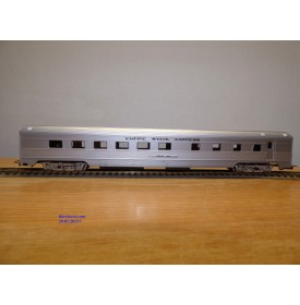 RIVAROSSI  véro 6556, voiture restaurant  ( corrugated  side grill car )  John Jay     Empire State Express NYC   Neuf   BO