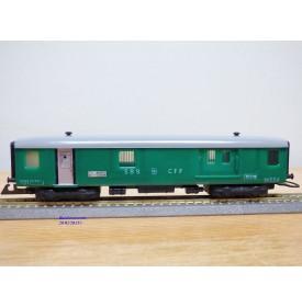WESA 221.2, fourgon grandes lignes  SBB  BO