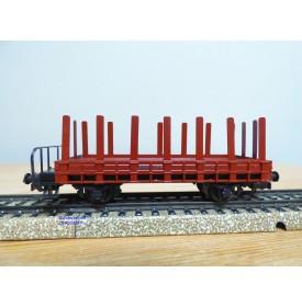HAG  325.01, wagon plat  à ranchers à guérite  type M6 SBB  BO