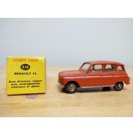 Dinky Toys vrai 518, Renault 4 L   BO