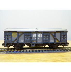 ELECTROTREN 1404,  wagon couvert ABONOS  CM  RENFE BO