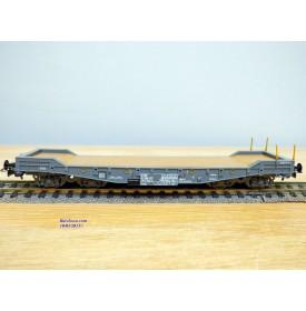 LILIPUT 257 50, wagon plat surbaissé type Smmps SBB  BO