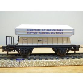 ELECTROTREN  1009, wagon silo pour transport de céréales  RENFE   BO