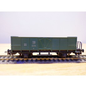 HAG  325.07, wagon tombereau à plate forme  type  L6 vert  SBB  BO