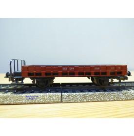 HAG  320.01, wagon plat à plate forme d'extrémité  type M6 SBB  BO