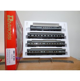 "RIVAROSSI ""véro"" 6961 set B, coffret 4 voitures Baltimore and Ohio  B&O  BO"