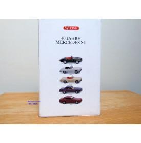 WIKING 99001, coffret commémoratif 40 Jahre Mercedes SL  Neuf   BO  1/87  HO