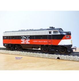MÄRKLIN  3062.2, locomotive diesel  Bo Bo F7 A non motorisée New Haven  Neuf  BO