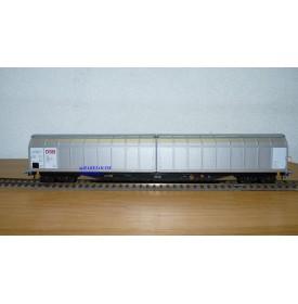 ROCO 47145 wagon à parois coulissantes type  Habbillns  DSB Neuf BO
