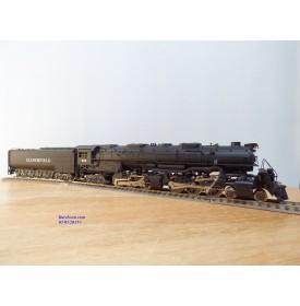 Rivarossi  véro 1267,  locomotive Mallet 4 6 6 4 Challenger N° : 3985  UP BO