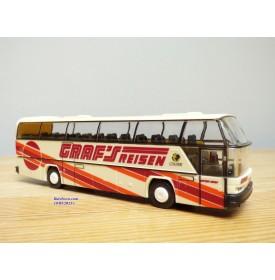 Rietze 60087, autocar NEOPLAN Cityliner  GRAF'S REISEN   Neuf   BO