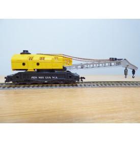 LILIPUT ( AHM ) 210 PRR, rare wagon grue 90 tonnes Pennsylvania ( PRR ) neuf  BO