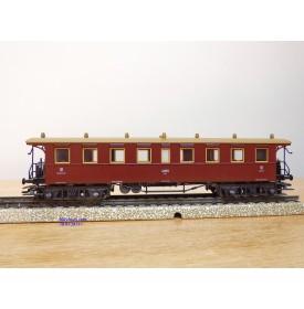 Märklin 4211, voiture  grandes lignes ancienne 3 Kl. type BC4I Wü 00 K.W.St.E.   neuf  BO
