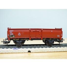 Märklin ancien  4602.2, wagon tombereau type Omm52  DB  BO