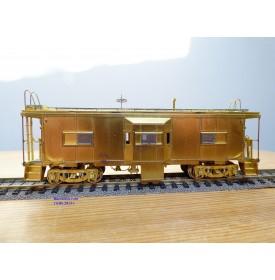 OVERLAND ( OMI ) 1257,  modernized caboose   Erie Lackawanna   E-L  neuf   BO