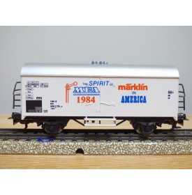 Märklin 84717 / 4415, très rare wagon couvert réfrigérant type Ichqrs 377 DB   MEA 1984  Neuf  BO