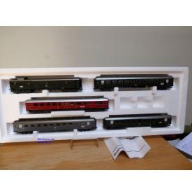 """Märklin 42941,  coffret de 5 voitures """"Riviera-Express """" neuf   BO"""
