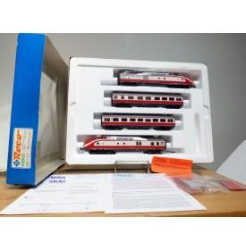 "ROCO  pour Märklin 43902, Rame Intercity  (ex TEE)  série ( Br ) VT 11.5 ""  Max Lierbermann ""  DR  BO"