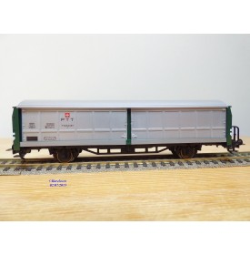 FLEISCHMANN 5361 K,  wagon couvert  ype G  DR BO