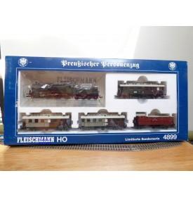 FLEISCHMANN  4899 , coffret  Preussischer Personenzug  KPEV    neuf   BO
