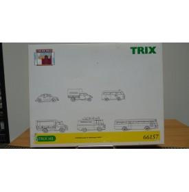 """TRIX  66157, Coffret 6 véhicules Port de Hambourg """" Tor zur Welt"""" BO"""