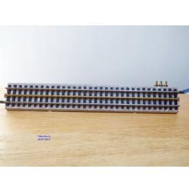VB 78, élément de rail droit  prise de courant 224 mm