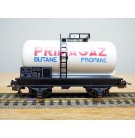 HORNBY acHO 702, wagon citerne type SRuw à   2  essieux   PRIMAGAZ   SNCF  Neuf  BO