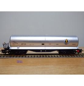 ELECTROTREN  5301, wagon citerne BUTANOS SA RENFE BO