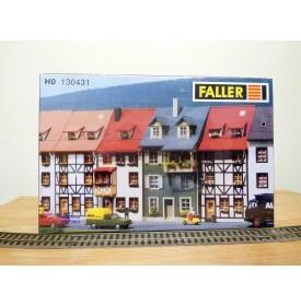 FALLER 130431,  2 maisons en relief   Neuf   BO   1/87   HO