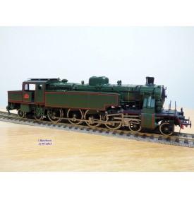 FULGUREX  locotender 142 Br 65 018 DB BO