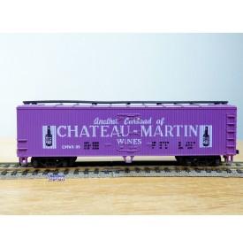 AHM ( Liliput) 5296 K, wagon couvert réfrigérant ( reefer) en bois Château Martin Wines    BO