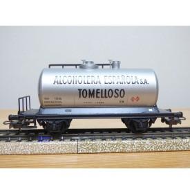 ELECTROTREN 1600, wagon citerne REPSOL RENFE BO