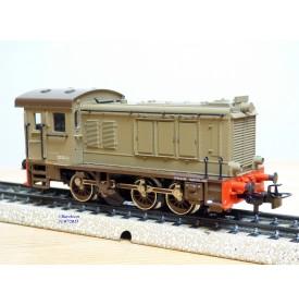 MÄRKLIN  3142,  locotracteur diesel à bielles D 246   FS   BO