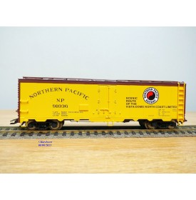 TRIX  24902-15 , wagon couvert ( boxcar )   NORTHERN  PACIFIC  Neuf   BO