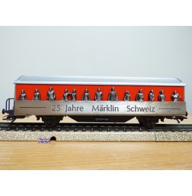 Märklin 4435,929  / 98714,  wagon couvert  25 Jahre Märklin Schweiz SBB   BO