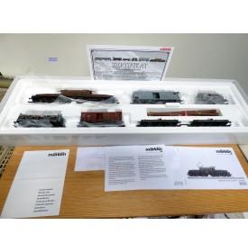 Märklin Digital 26591,  coffret train de marchandises suisse : 1 motrice Crocodile Ce 6/8 III et 5 wagons SBB   Neuf  BO